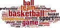 Basketball Word Cloud Concept - PhotoDune Item for Sale