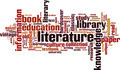 Literature Word Cloud Concept - PhotoDune Item for Sale