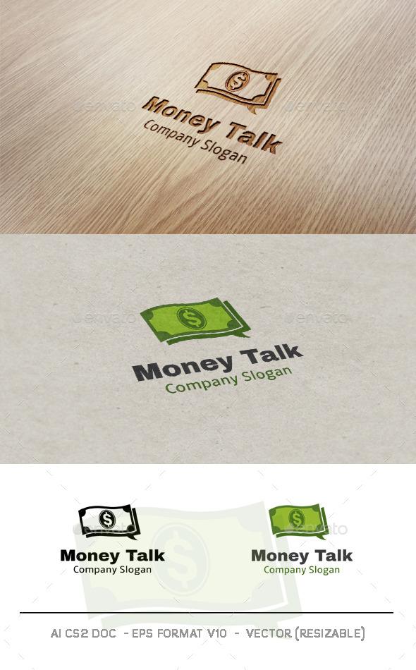GraphicRiver Money Talk logo 9695839