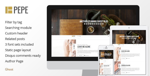 ThemeForest Pepe Multipurpose Responsive Theme 9634807