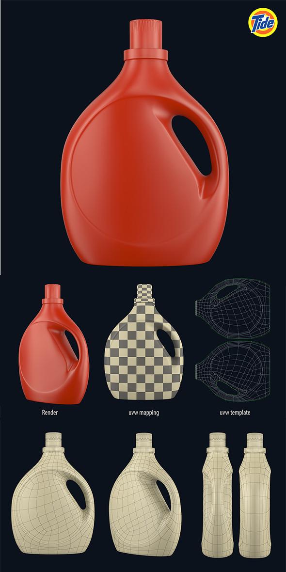 Tide Bottle (1) - 3DOcean Item for Sale