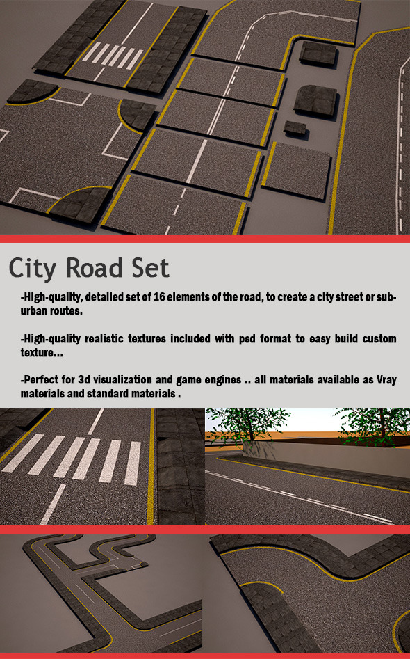 City Road Set street pack