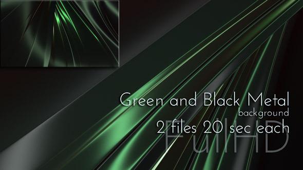 VideoHive Green and Black Glossy Metallic 9695939