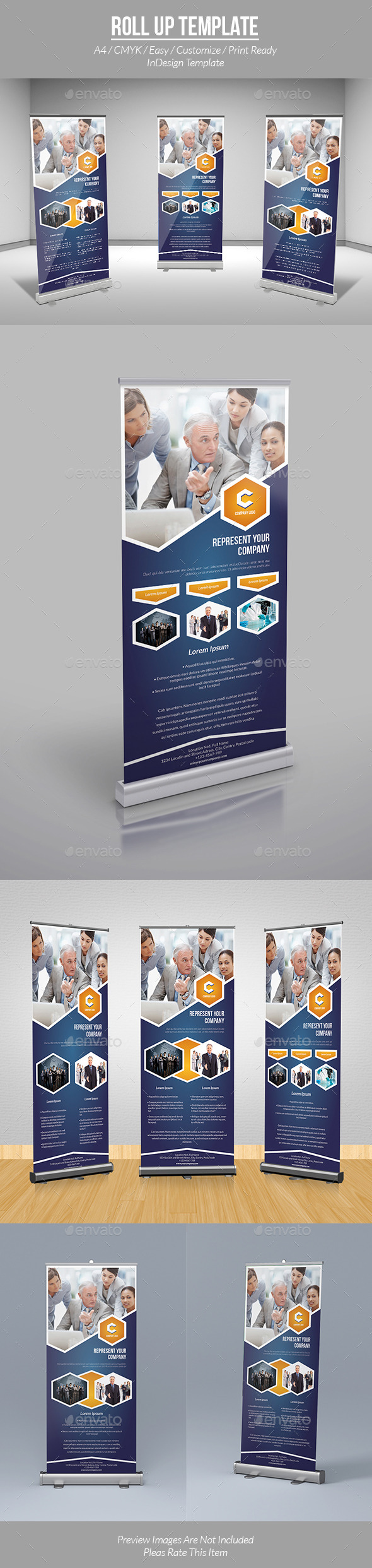 GraphicRiver Roll Up Template 9695986
