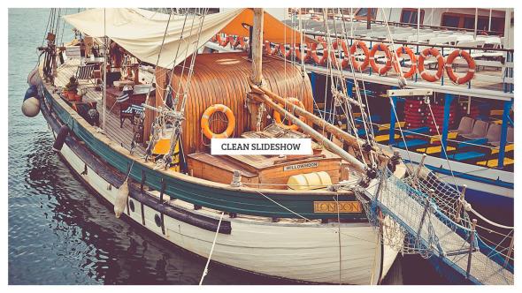 Clean Slide Photo Video Slideshow