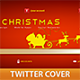 Christmas Ribbon Twitter Cover - GraphicRiver Item for Sale