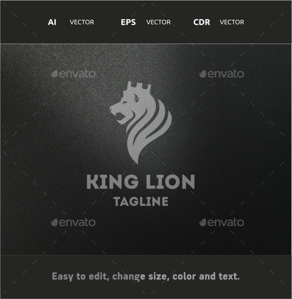 GraphicRiver King Lion 9696143