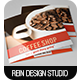 Minimal Square Coffee Shop Trifold - GraphicRiver Item for Sale