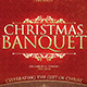 Christmas Banquet Church Flyer - GraphicRiver Item for Sale