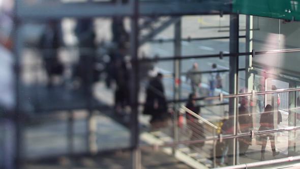 VideoHive Bonn Airport Passengers Boarding 9697075