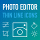 Photo Editor Icons - GraphicRiver Item for Sale
