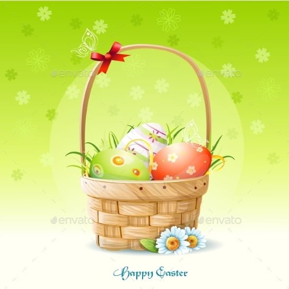 GraphicRiver Easter Card 9697324