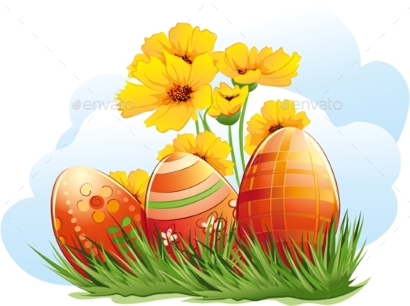GraphicRiver Easter 9697327