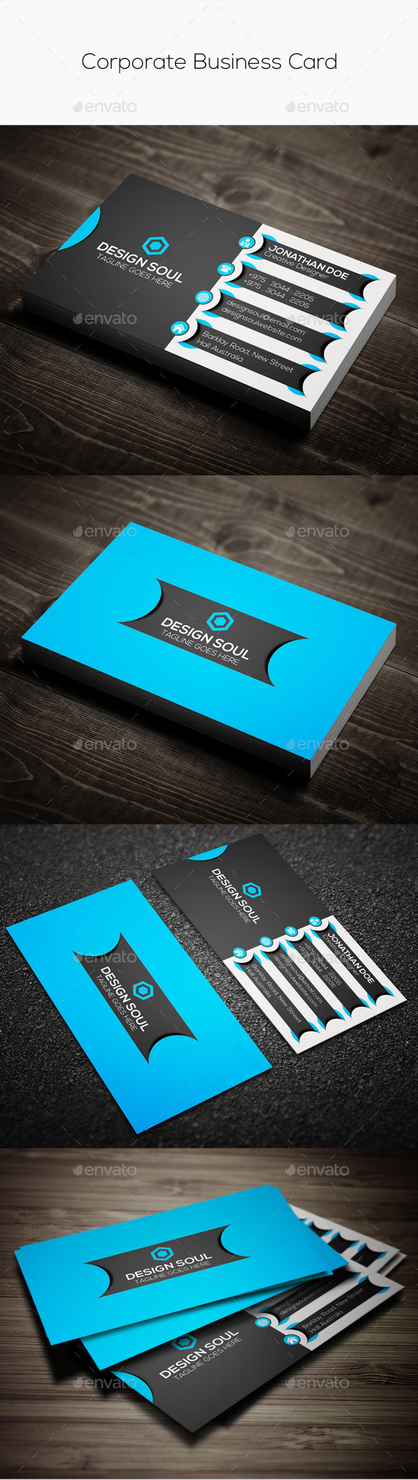 GraphicRiver Corporate Business Card 9697330