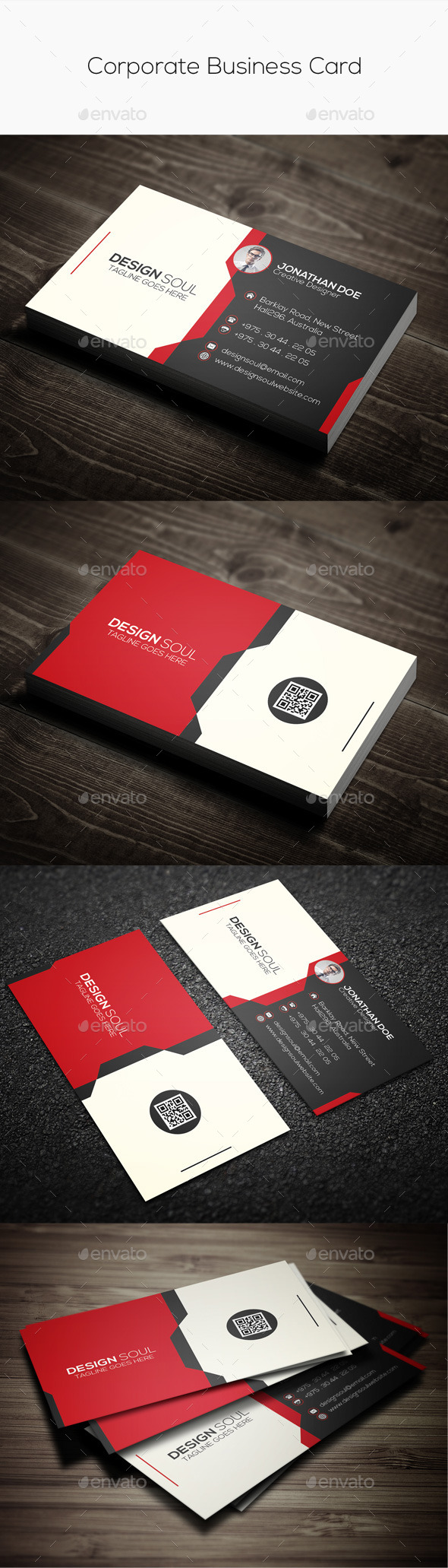GraphicRiver Corporate Business Card 9697343