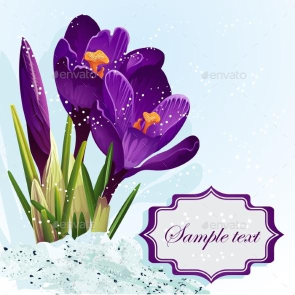 GraphicRiver Flower Background 9697366