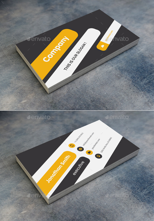 GraphicRiver Corporate Business Card 9697419