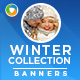 Winter Collection Banners - GraphicRiver Item for Sale