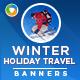 Winter Holidays Banner Set - GraphicRiver Item for Sale