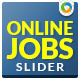 Job Search Slider - GraphicRiver Item for Sale