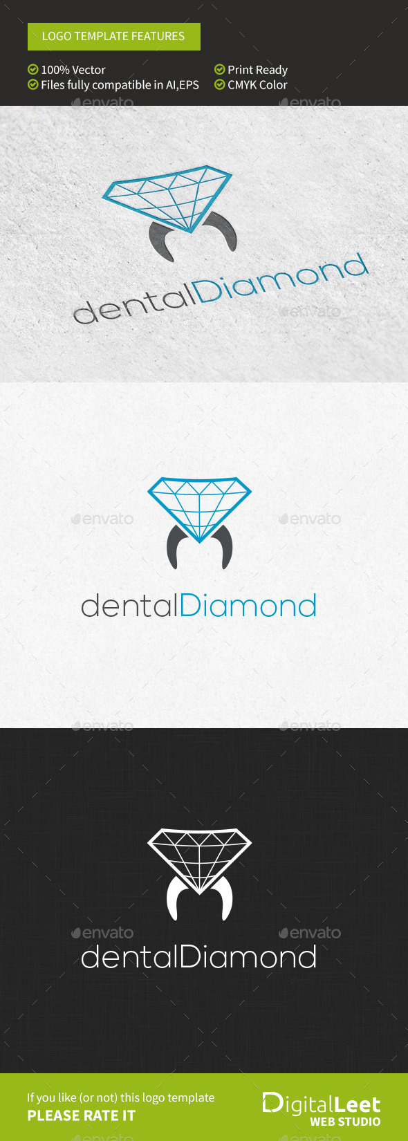 GraphicRiver Dental Diamond 9698334