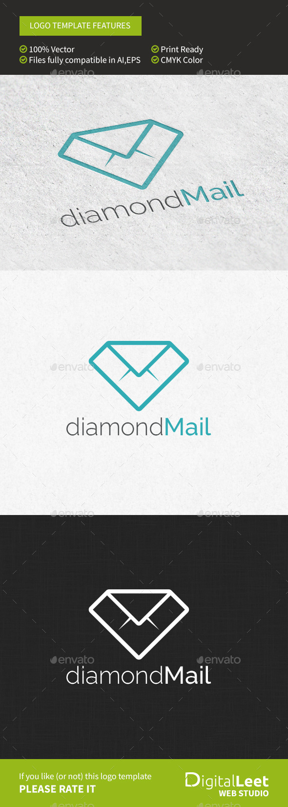 GraphicRiver Diamond Mail 9698398