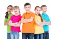 Group of children with crossed arms. - PhotoDune Item for Sale