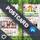 Christmas Postcard Templates - GraphicRiver Item for Sale