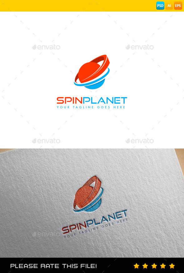 GraphicRiver Planet Logo 9698743