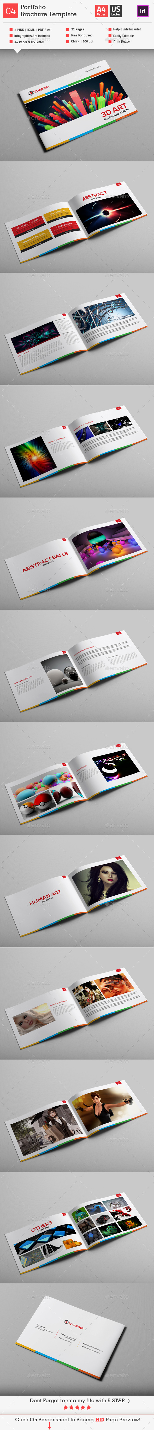 GraphicRiver Portfolio Brochure Template 9698818