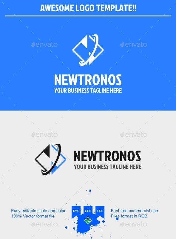 GraphicRiver Newtron Logo 9698903