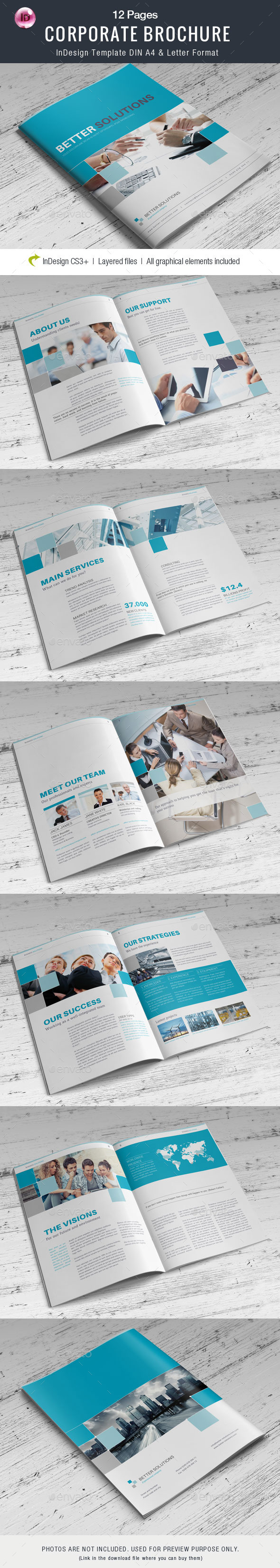 GraphicRiver Corporate Business Brochure V.3 9699123