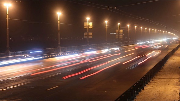 VideoHive Night Traffic 9699221