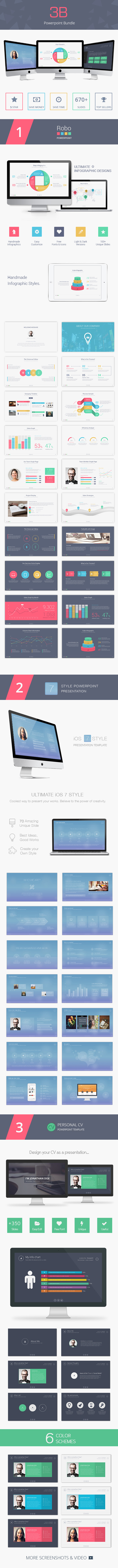 GraphicRiver 3B Powerpoint Bundle 9699250