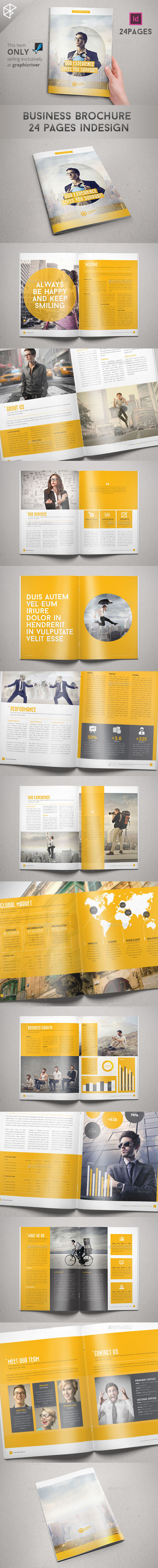 Business Brochure 24 Pages Indesign