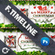 Christmas Timeline Cover Templates - GraphicRiver Item for Sale