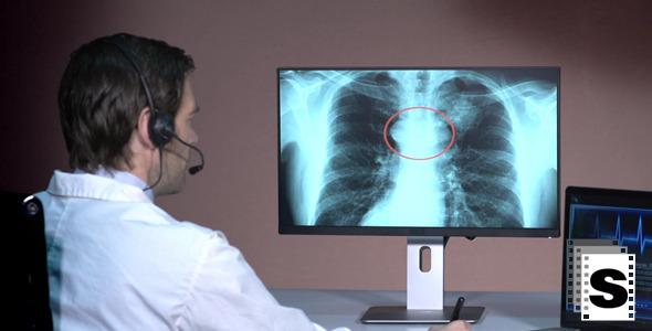 Male Doctor Telemedicine