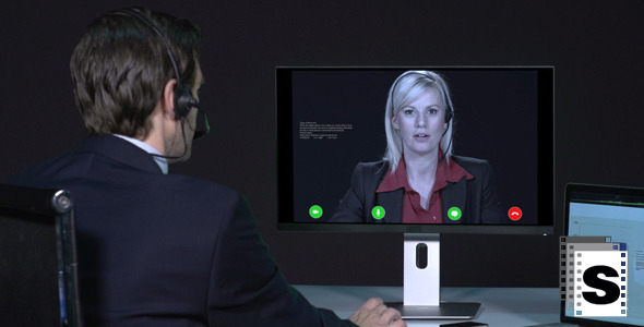 VideoHive Business Telemeeting 9700009