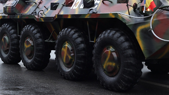 VideoHive Armored Transportation Vehicle 9700519
