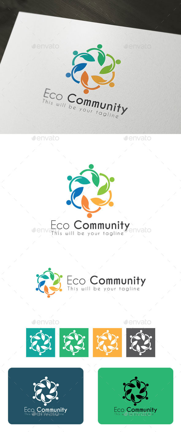 GraphicRiver Eco Community 9700826