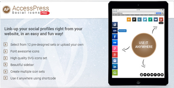 CodeCanyon AccessPress Social Icons Pro 9700839