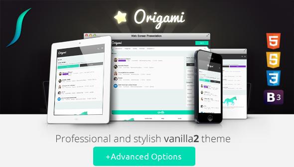 ThemeForest Origami Responsive Vanilla 2 Theme Control Panel 9626926
