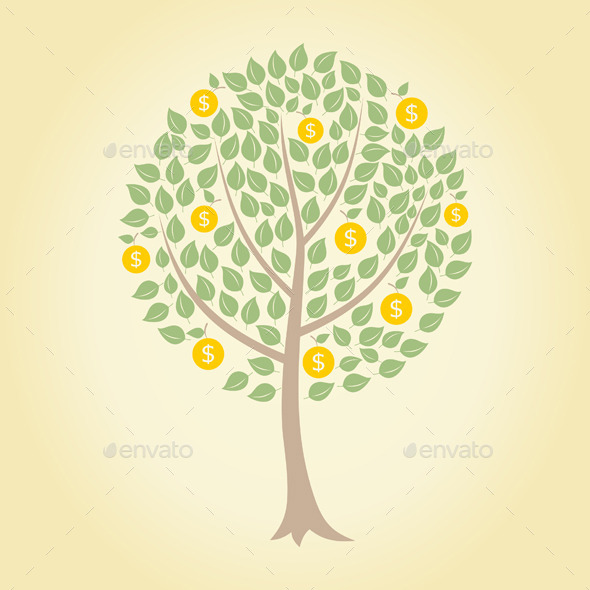 GraphicRiver Money Tree 9700932