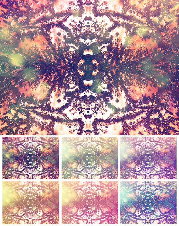 GraphicRiver Lightflower Textures 9701235