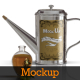 Stainless Steel Oil Tin Mockup - GraphicRiver Item for Sale