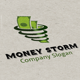 Money Storm logo - GraphicRiver Item for Sale