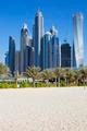 Skyscrapers and jumeirah beach - PhotoDune Item for Sale