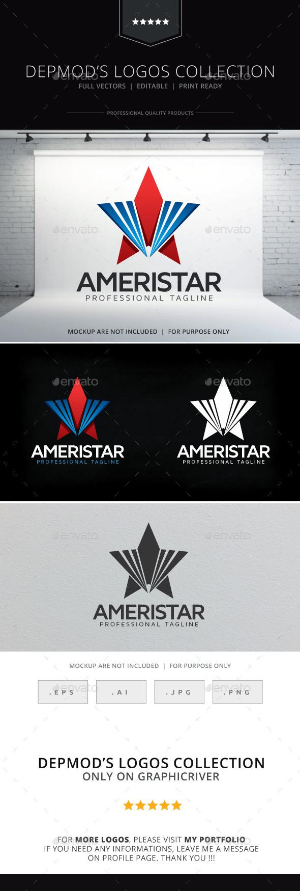 GraphicRiver Ameristar Logo 9701816