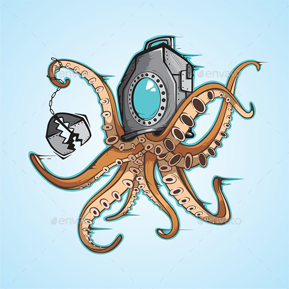 GraphicRiver Kraken 9661655