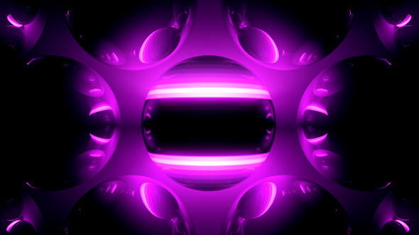 VideoHive VJ 3D Spheres Stripe Single Pack 9702007